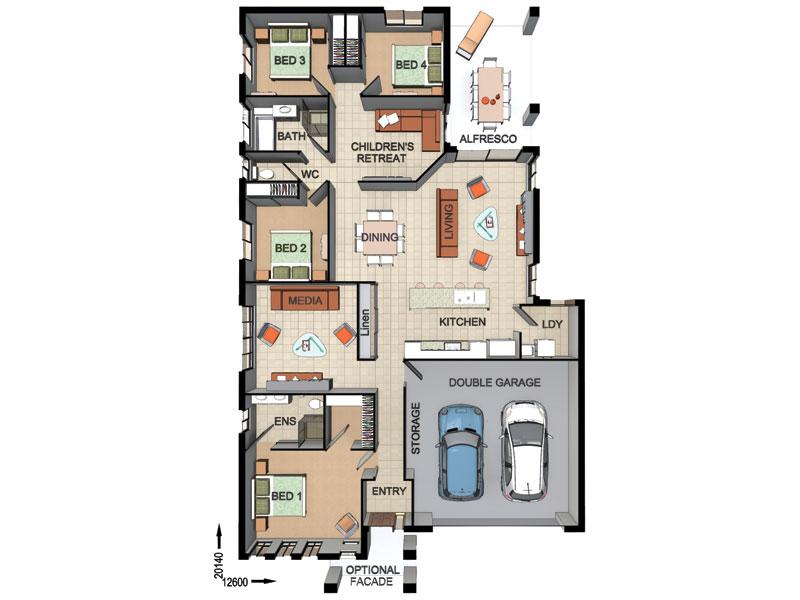 Dixon Homes Floor Plans
